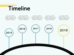 Timeline Process A45 Ppt Powerpoint Presentation File Elements