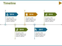 Timeline Process F470 Ppt Infographic Template Graphics Design