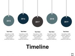 Timeline Process Management Ppt Professional Microsoft