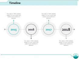 Timeline Process Management Ppt Slides Designs Download