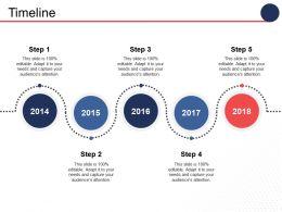 Timeline Process Ppt Inspiration Design Inspiration