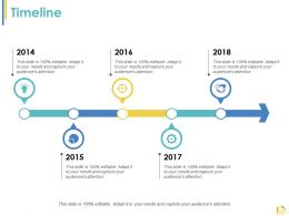 Timeline Process Ppt Styles Example Introduction