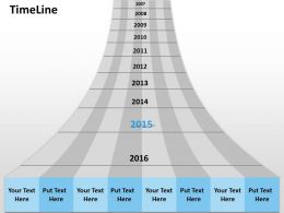 Timeline Process Roadmap Diagram 0314
