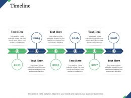 Timeline Process Time Management Planning Business Roadmap