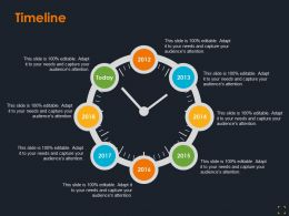 Timeline Product Segmentation Ppt Summary Designs Download