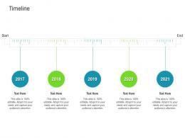 Timeline Raise Funded Debt Banking Institutions Ppt Infographics Master Slide