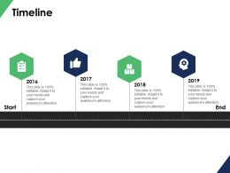Timeline Roadmap B105 Ppt Powerpoint Presentation File Vector