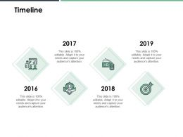 Timeline Roadmap B156 Ppt Powerpoint Presentation File Show