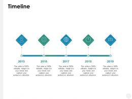 Timeline Roadmap B202 Ppt Powerpoint Presentation File Vector