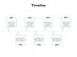Timeline Roadmap B208 Ppt Powerpoint Presentation File Show