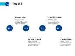Timeline Roadmap B214 Ppt Powerpoint Presentation File Grid