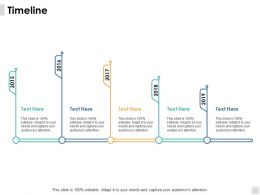 Timeline Roadmap B53 Ppt Powerpoint Presentation File Aids