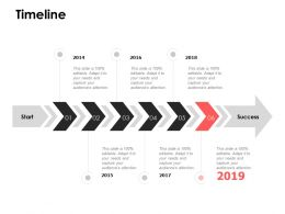 Timeline Roadmap F678 Ppt Powerpoint Presentation Pictures Format