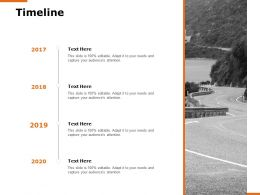 Timeline Roadmap H174 Ppt Powerpoint Presentation Show Layouts