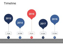 Timeline Roadmap I66 Ppt Powerpoint Presentation Gallery Designs Download