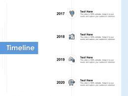 Timeline Roadmap Process K121 Ppt Powerpoint Presentation File Slides