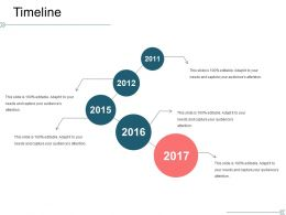 Timeline Sample Ppt Files Template 1
