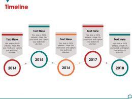 Timeline Sample Presentation Ppt Template 1