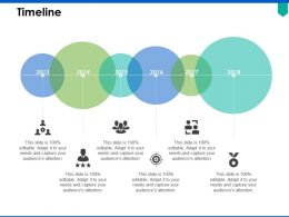 Timeline Six Year Process C318 Ppt Powerpoint Presentation Pictures Display