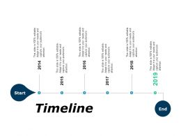 Timeline Six Years Roadmap F139 Ppt Powerpoint Presentation Show Sample