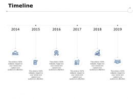 Timeline Six Years Timeline Ppt Powerpoint Presentation Pictures Slide Portrait