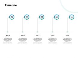 Timeline Technology Years Roadmap Ppt Powerpoint Presentation Gallery Outfit