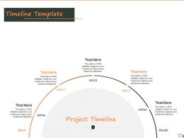 Timeline Template A1270 Ppt Powerpoint Presentation Ideas Pictures