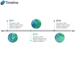 Timeline Three Years F163 Ppt Powerpoint Presentation Professional Example
