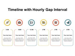 Timeline With Hourly Gap Interval