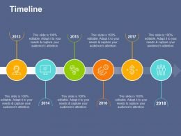 Timeline With Time Management Ppt File Background Designs