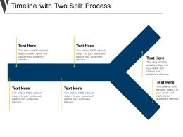 Timeline With Two Split Process