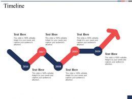 Timeline Year I6 Ppt Powerpoint Presentation File Portfolio