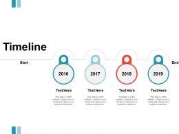 Timeline Year Marketing I137 Ppt Powerpoint Presentation File Master Slide