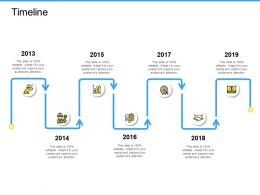 Timeline Year Marketing Ppt Powerpoint Presentation Show Graphics