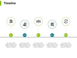 Timeline Year Process J43 Ppt Powerpoint Presentation File Visuals