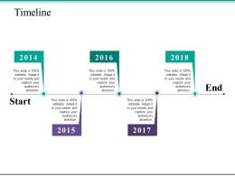 Timeline Year Process Ppt Powerpoint Presentation File Background