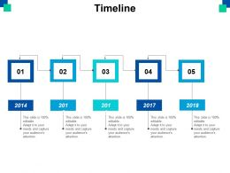Timeline Year Process Ppt Powerpoint Presentation File Layouts