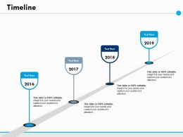 Timeline Year Process Ppt Powerpoint Presentation File Visuals