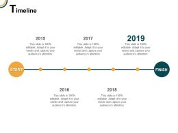 Timeline Year Roadmap E73 Ppt Powerpoint Presentation Icon Sample