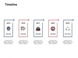Timeline Year Roadmap E98 Ppt Powerpoint Presentation Gallery Layout