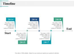 Timeline Years J12 Ppt Powerpoint Presentation Summary Examples