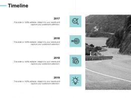 Timeline Years Our Goal E207 Ppt Powerpoint Presentation File Maker
