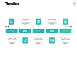 Timeline Years Roadmap D156 Ppt Powerpoint Presentation Gallery Background
