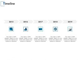 Timeline Years Roadmap E39 Ppt Powerpoint Presentation Gallery Clipart