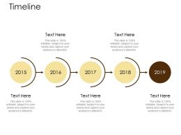 Timeline Years Roadmap Ppt Powerpoint Presentation Gallery Diagrams