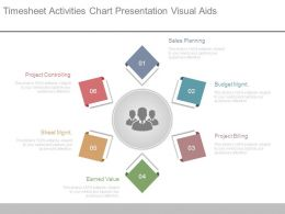 Timesheet Activities Chart Presentation Visual Aids