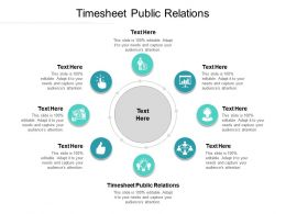 Timesheet Public Relations Ppt Powerpoint Presentation Ideas Themes Cpb