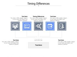 Timing Differences Ppt Powerpoint Presentation Outline Example Introduction Cpb