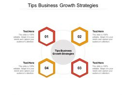 Tips Business Growth Strategies Ppt Powerpoint Presentation Example File Cpb