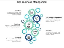 Tips Business Management Ppt Powerpoint Presentation Layouts Demonstration Cpb